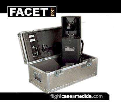 Flight case a medida para flash
