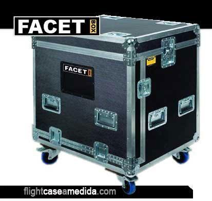 Flight case a medida para iluminación (caja cerrada)