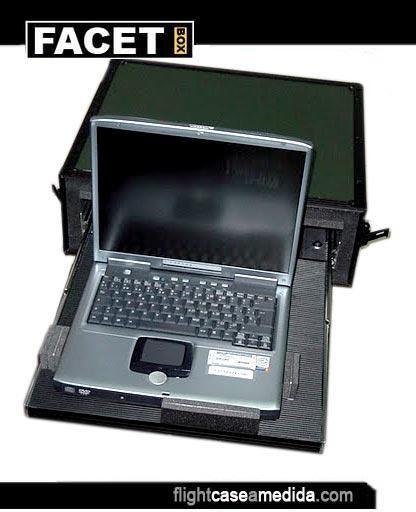 Flight case a medida para ordenador portátil