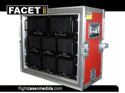 Flight case a medida para pantallas