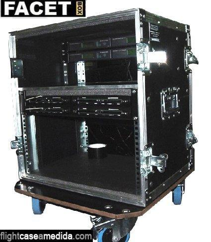Flight case a medida para audiovisual
