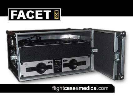 Flight case a medida para disco