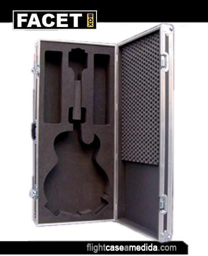 Flight cases a medida para guitarras