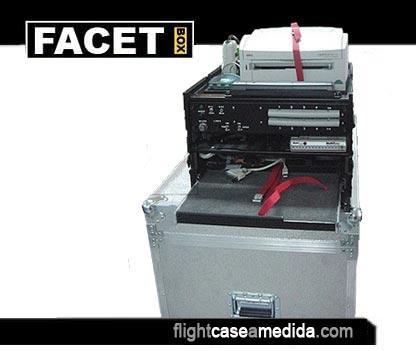 Flight case a medida para impresora