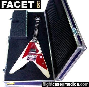 Flight case a medida guitarra eléctrica
