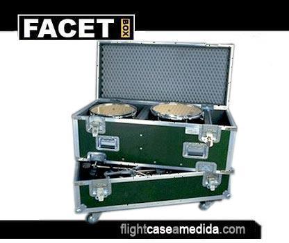 flight cases baterías | flight case a medida