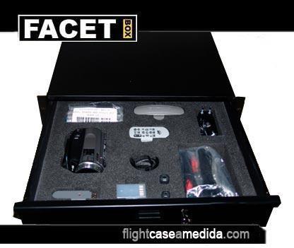 Flght case a medida para cámara de vídeo