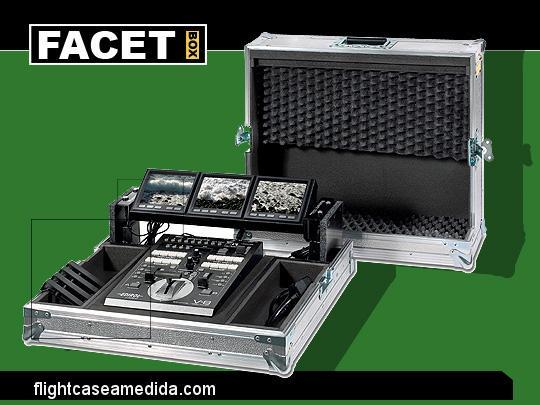 Flight case a medida para video